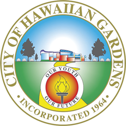Hawaiian Gardens City Seal
