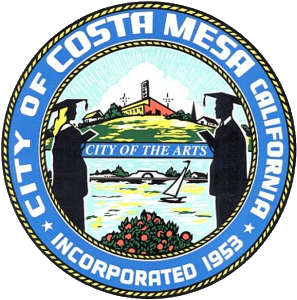 Costa Mesa California city seal