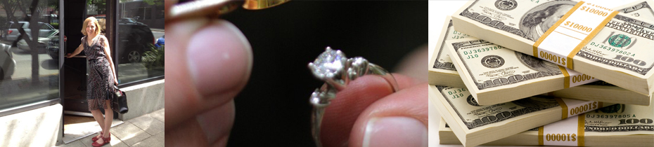 selling diamond rings process