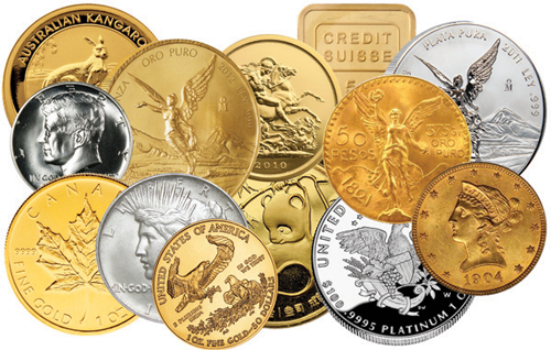 Multi Gold Coins